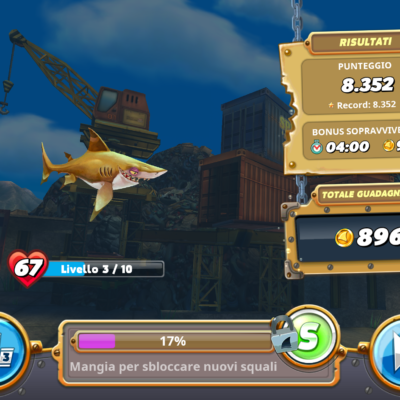 Hungry Shark wolrd_screenshot